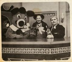 Captain Kangaroo, Mr. Green Jeans, Bun, Dancing Bear and Mr. Moose.  I loved watching this TV show, along with Bozo the Clown and Sheriff John.