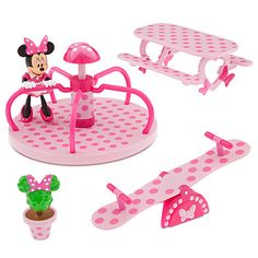 Minnie Mouse Park Play Set   Play Sets & More   Disney Store