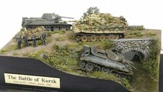 The Battle of Kursk Military Figures, Military Diorama, Scale Art, Tiger Tank, Model Tanks, Ardennes, Military Modelling, Ww2 Tanks, Red Army
