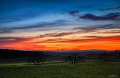 A bloody sky - TomFear Red Sunset, Dusk, Sunrise, Celestial, Wallpaper, Outdoor, Color, Google, Outdoors