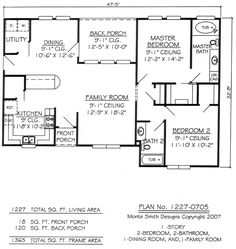 Two Bedroom House Plans for Small Land Two Bedroom House Plans