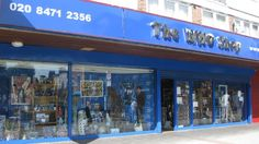 The Who Shop - Doctor Who STORE!!!! This is the first place I am going when I am in London