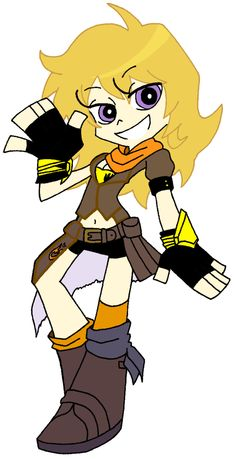 Yang looks like she'd fit in in the Panty and Stocking universe. Anyways, this is Yang Xiao Long from Rooster Teeth's . RWBY- Yang Xiao Long (Panty and Stocking Style) Rwby Crossover, Fandom Crossover, Rwby Fanart, Panty And Stocking Anime, Character Art, Character Design, Rwby Yang, Team Rwby, Phineas And Ferb