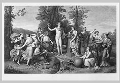 Raphael Morghen after Anton Raphael Mengs: Apollo and the Muses on Parnassus (28.22.36) | Heilbrunn Timeline of Art History | The Metropolitan Museum of Art