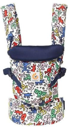 ERGObaby Special Edition Keith Haring Three Position ADAPT Baby Carrier