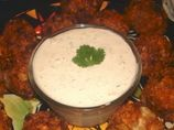CHUY's creamy jalepeno ranch dip... yes please.