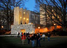 Virginia Tech: War Memorial (Photo by Peter Means) #virginiatech #hokies