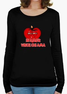 T-shirt IN AMOR VINCE CHI AMA