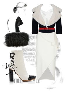 """""""Furry fur"""" by atie-212 ❤ liked on Polyvore featuring Proenza Schouler, Givenchy, Dorothee Schumacher, Jean Patou, Gucci and Sondra Roberts"""