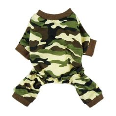 Dog Shirts - Fitwarm Stylish Army Green Camouflage Dog Shirts Jumpsuit for Pet Cat Camo Clothes Apparel Medium -- Want to know more, click on the image. (This is an Amazon affiliate link)