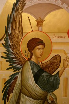 images of icons of guardian angels - Yahoo Image Search Results Byzantine Icons, Byzantine Art, Religious Icons, Religious Art, Archangel Gabriel, Guardian Angels, Orthodox Icons, Angel Art, Sacred Art