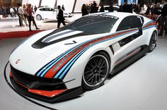 2012 ItalDesign Giugiaro Brivido Race Car. (So did someone just read Spotlight Jazz and go HECK YES or something?)