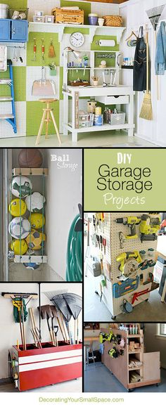 DIY Garage Storage Projects  Ideas!