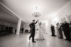 Bride and Groom first dance at Hycroft Manor. Matt Kennedy - Portfolio Photo By www.mattkennedy.ca