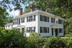 Historic American Houses - Massachusetts - Concord - Ralph Waldo Emerson House (1828)