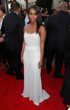 Aja Naomi King At The 46th NAACP Image Awards
