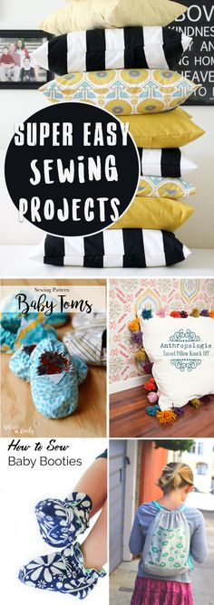 25 Super Easy Sewing Projects To Let Even The Most Beginners Work Wonders!