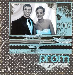 scrapbook layouts homecoming - Google Search