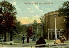 The cyclorama in Grant Park ~ Atlanta ~ back in the day