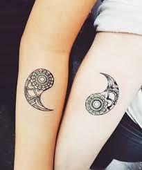 Resultado de imagen de mini love couple tattoos