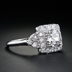 1930's vintage engagement ring.