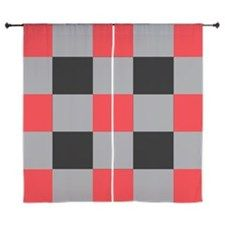 Shop Black and Red and Silver Square Curtains designed by Adrianne_Desire. Lots of different size and color combinations to choose from. Curtain Designs, Shower Curtains, Color Combinations, Silver, Red, Black, Home Decor, Homemade Home Decor, Color Combinations Outfits