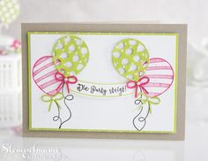 Stampin' Up! Geburtstagsparty, Stamp to Share International Blog Hop - Stampin'Up! mit stempelmami - Basteln mit Stempel & Papier