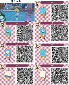 1000 images about animal crossing new leaf qr codes and plans on pinterest animal crossing. Black Bedroom Furniture Sets. Home Design Ideas