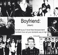 The accuracy though like my standards are so high bc of them that I wonder if I'll ever even get a boyfriend