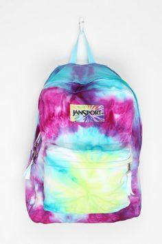 Jansport DIY Tie-Dye Backpack. Cool!!!