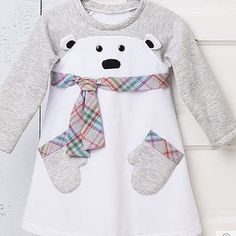 Sewing baby dress diy little girls 23 ideas for 2019 Sewing Baby Clothes, Kids Clothes Patterns, Barbie Clothes, Sewing Patterns, Diy Clothes, Dress Sewing, Sewing Ideas, Vêtements Goth Pastel, Baby Girl Dresses