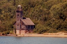 Michigan is known for its lighthouses, and this has to be among its oldest. The Grand Island East Channel Lighthouse in Munising began operation in 1868.