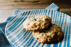 Blueberry Coconut Dark Chocolate Cookies by Stephanie Le | west elm ......possible work recipe