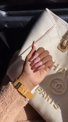 Acrylic Nails Coffin Short, Coffin Nails, Cute Nails, My Nails, Beauty Routine Tips, Diamond Nails, Nail Games, Gorgeous Nails, Manicure And Pedicure