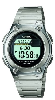 Casio Mens W211D-1AV Digital Sport Watch