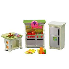 Fisher-Price Loving Family Dollhouse Furniture, Kitchen