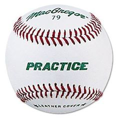 #Macgregor #practice baseballs, youth, leather (one #dozen),  View more on the LINK: http://www.zeppy.io/product/gb/2/151760160611/