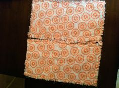 Baby burp cloths set of 2 by SDKCreations on Etsy, $9.50