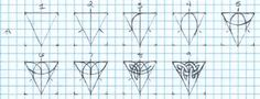 how to draw celtic knots on graph paper for woodcarving - Google Search
