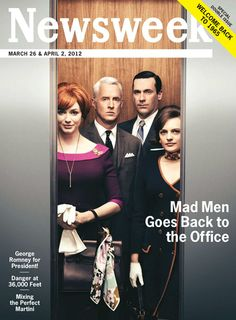 YES YES YES: Mad Men goes back to the office!
