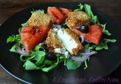 Watermelon and Feta Salad- A Cookbook Collection