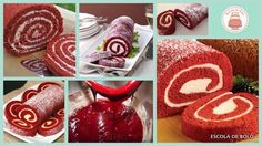 red velvet rocambole
