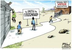 Path 2 Citizenship ...to get in line for democrats voter registration