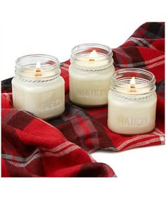 No fireplace? No problem. Real Simple is keeping things simple & cozy with our Crackling Candles!