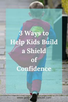 Confidence acts as a shield for kids. You can teach your kids how to be more confident with these 3 ideas. Read now or pin for later.