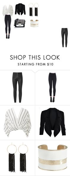 """""""chic"""" by miss-perfiet on Polyvore featuring Dolce&Gabbana, Free People, Bebe, Lucky Brand and Karl Lagerfeld"""