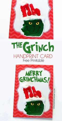 The Grinch Handprint