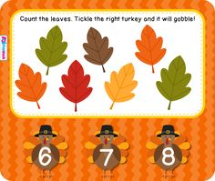 Leaf Counting Smart Board Game - FREE by FlapJack Educational Resources Smart Board Activities, Smart Board Lessons, Preschool Activities, Educational Activities, Thanksgiving Activities, Autumn Activities, Thanksgiving Crafts, Math Classroom, Kindergarten Math