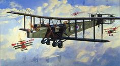 British Handley Page bomber  | ... of aircraft showing a handley page 0 400 bomber in service WWI