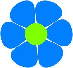 instant download flower power clip art by jessicasawyerdesign 3 00 rh pinterest com flower power clipart flower power clipart